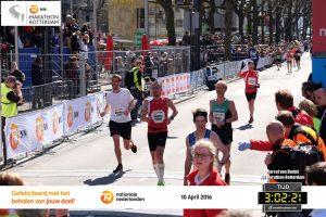Finish Rotterdam Marathon 2016